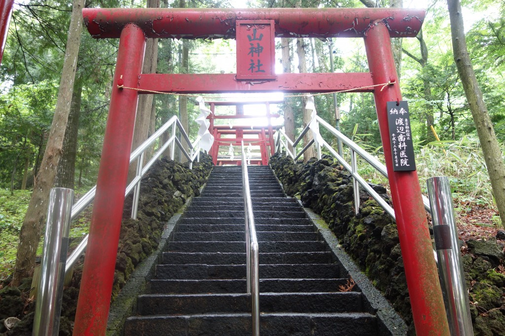 金運神社階段