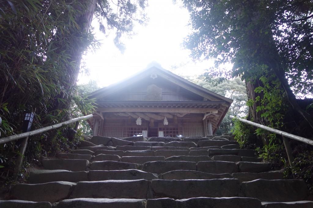 神魂神社拝殿