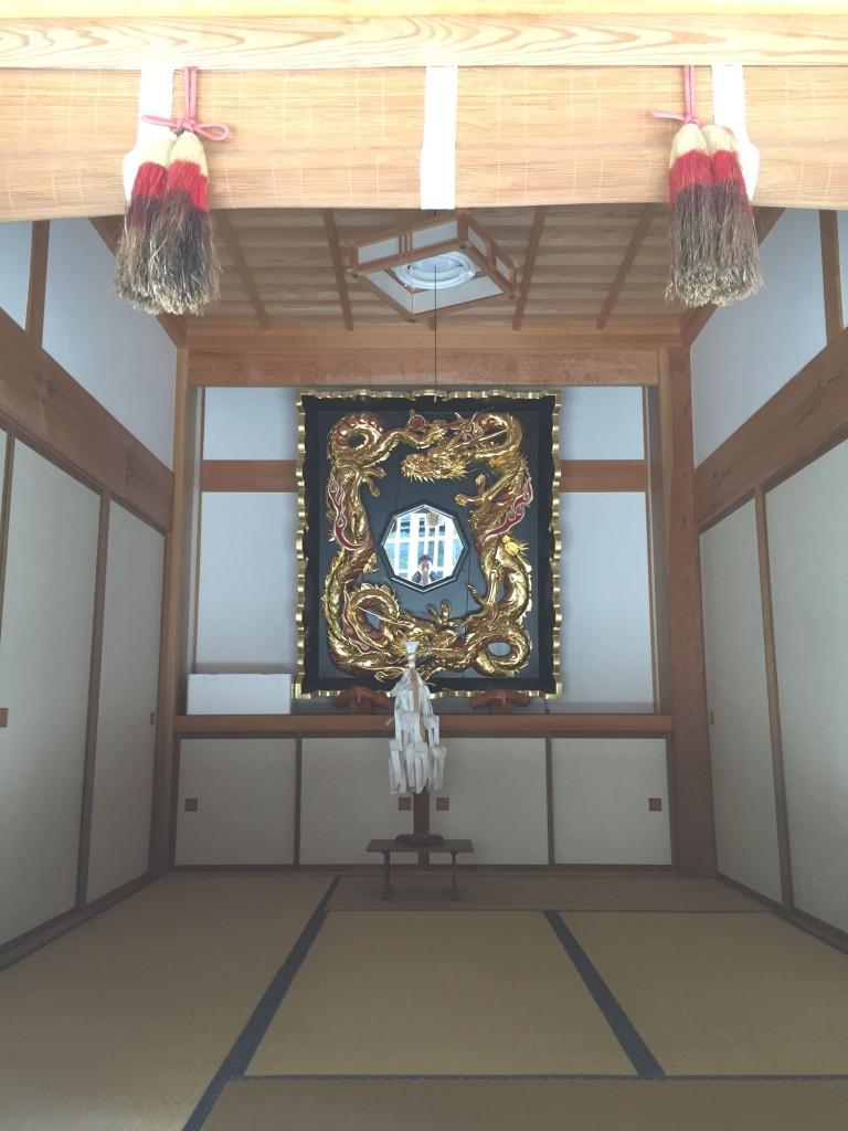 須佐神社龍鏡