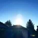 間もなく皆既日食が始まります!