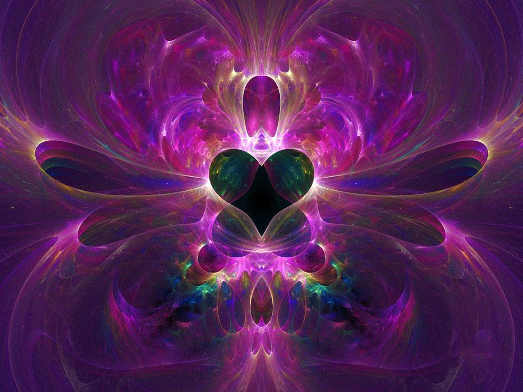 神聖なる紫の炎