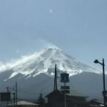 富士山でのライトワーク